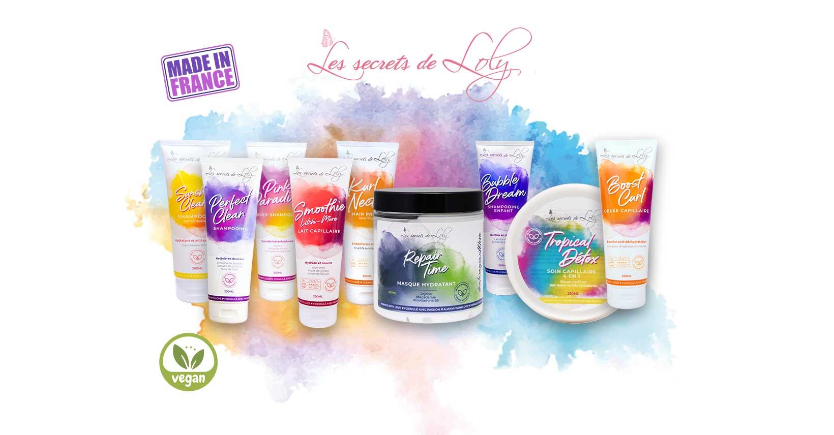 Les Secrets de Loly - натурална френска козметика за къдрава коса